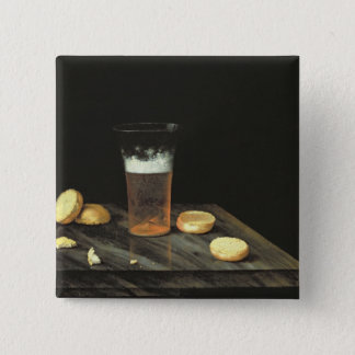 Still life with Beer Glass Button
