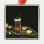 Still life with Beer Glass Christmas Ornament