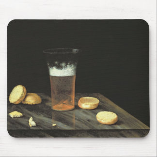 Still life with Beer Glass Mouse Pad