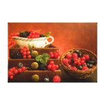 Still Life With Berries Gallery Wrapped Canvas