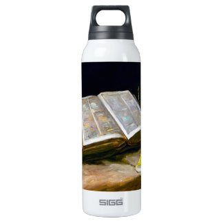 Still Life with Bible by Vincent Van Gogh 16 Oz Insulated SIGG Thermos Water Bottle