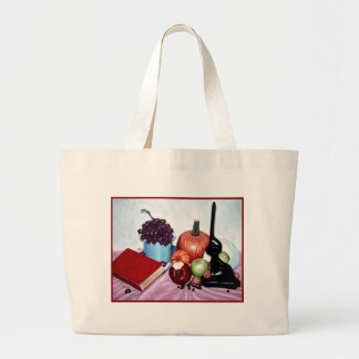 Still Life with Bite Canvas Bags