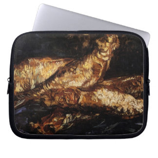 Still Life with Bloaters by Van Gogh Laptop Sleeve