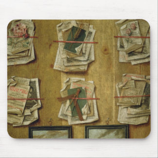 Still Life with Book Sheets and Pictures, 1783 Mouse Pad