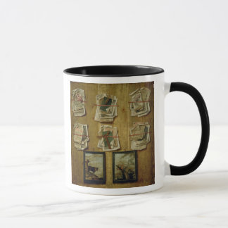 Still Life with Book Sheets and Pictures, 1783 Mug