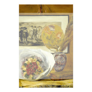 Still Life with Bouquet by Pierre-Auguste Renoir Flyer
