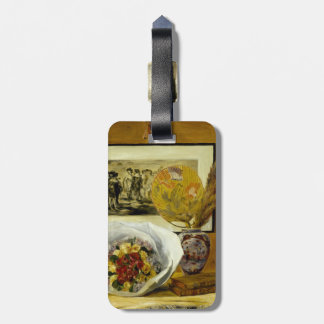Still Life with Bouquet by Pierre-Auguste Renoir Tag For Luggage
