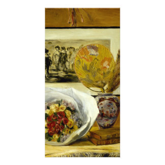Still Life with Bouquet by Pierre-Auguste Renoir Photo Greeting Card