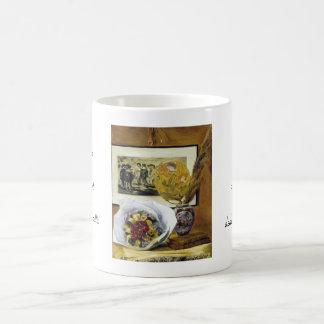 Still Life with Bouquet Pierre Auguste Renoir Mug