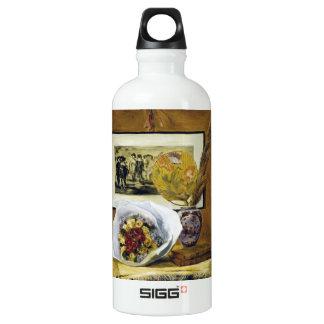 Still Life with Bouquet Pierre Auguste Renoir SIGG Traveler 0.6L Water Bottle