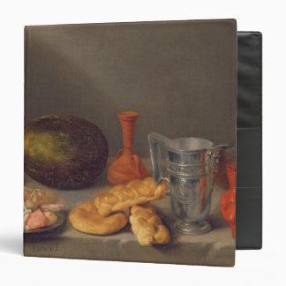 Still life with bread, 1648 binder