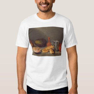 Still life with bread, 1648 tee shirts