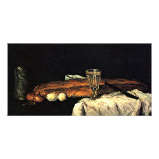 Still Life With Bread And Eggs By Paul Cézanne Photo Card