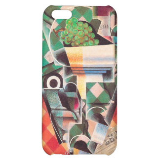 Still LIfe with Checked Tablecloth, by Juan Gris iPhone 5C Cases
