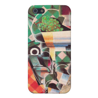 Still LIfe with Checked Tablecloth, by Juan Gris iPhone 5 Case