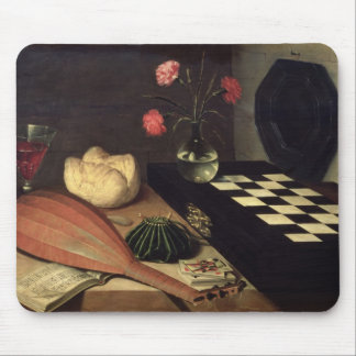 Still Life with Chess-board, 1630 Mouse Pad