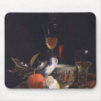 Still Life with Chinese Sugar Jar Mouse Pad