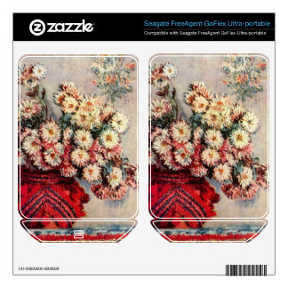 Still Life with Chrysanthemums by Claude Monet FreeAgent GoFlex Skins