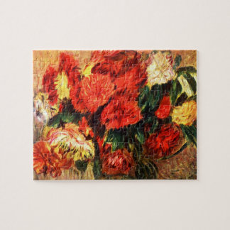 Still life with Chrysanthemums by Pierre Renoir Puzzles