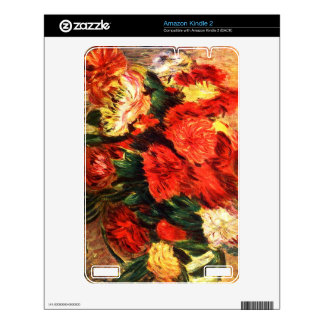 Still life with Chrysanthemums by Pierre Renoir Kindle Skins