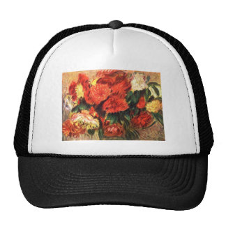 Still Life with Chrysanthemums Trucker Hat