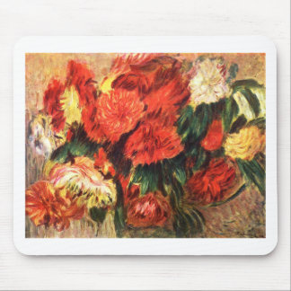 Still Life with Chrysanthemums Mouse Pad