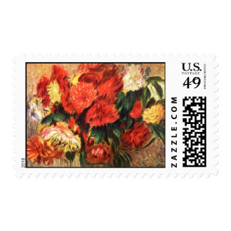 Still Life with Chrysanthemums Postage Stamps