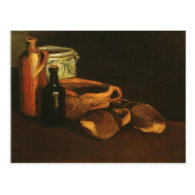 Still Life with Clogs and Pots, Van Gogh Postcard
