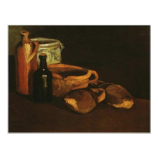 Still Life with Clogs and Pots, Van Gogh Poster