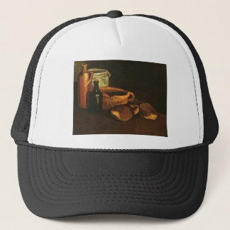 Still Life with Clogs and Pots, Van Gogh Trucker Hat