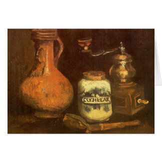 Still Life with Coffee Mill by Vincent van Gogh Card