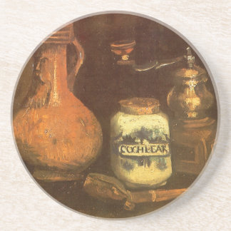 Still Life with Coffee Mill by Vincent van Gogh Coaster