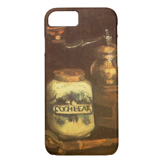 Still Life with Coffee Mill by Vincent van Gogh iPhone 7 Case