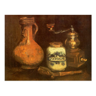 Still Life with Coffee Mill by Vincent van Gogh Postcard