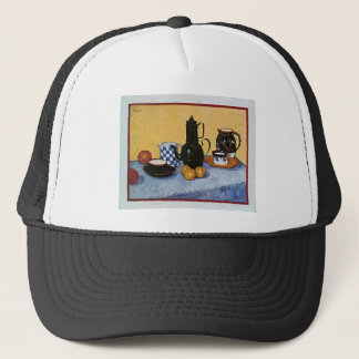 Still Life with Coffee Pot by Vincent Van Gogh Trucker Hat