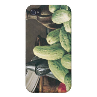 Still Life with Cucumbers and Tomatoes Case For iPhone 4
