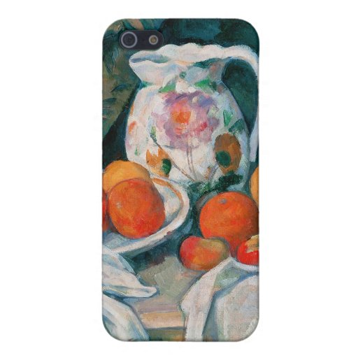 Still Life with Curtain, Paul Cézanne iPhone 5 Case