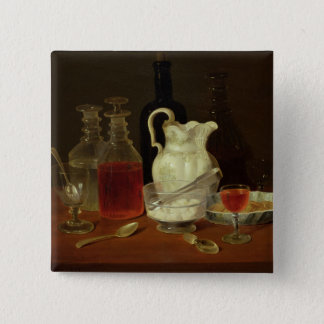 Still Life with Decanters Button