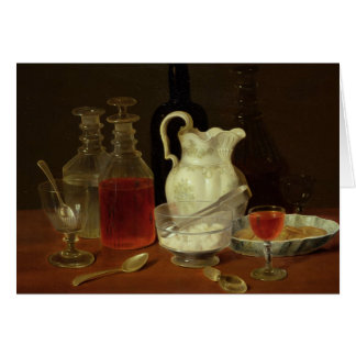 Still Life with Decanters Card