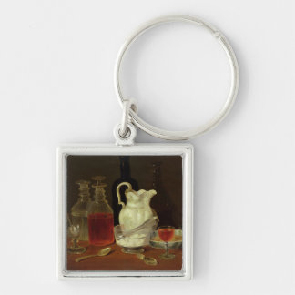 Still Life with Decanters Keychain