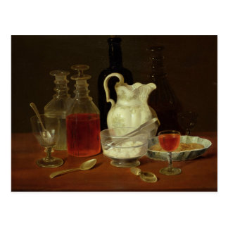 Still Life with Decanters Postcard