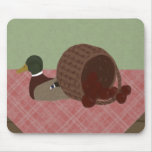 Still Life with Duck and Apple Basket Mousepad