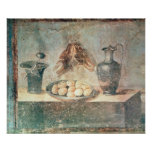 Still life with eggs and thrushes posters