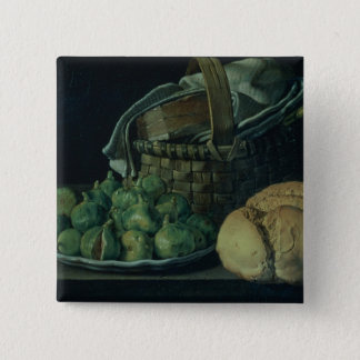 Still Life With Figs, 1746 Pinback Button