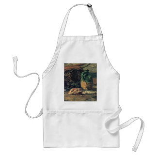 Still Life With Fish By Gauguin Paul (Best Quality Adult Apron