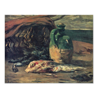 Still Life With Fish By Gauguin Paul (Best Quality Custom Announcements