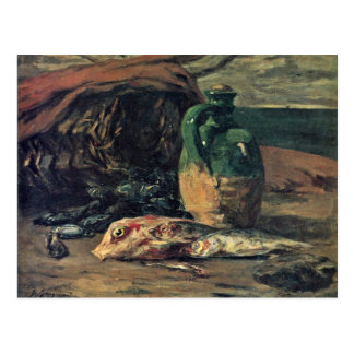 Still Life With Fish By Gauguin Paul (Best Quality Post Cards