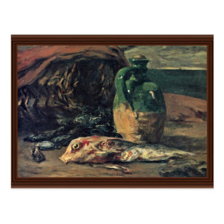 Still Life With Fish By Gauguin Paul (Best Quality Post Card