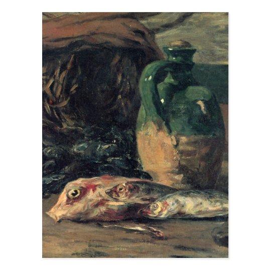 Still life with fish - Paul Gauguin Postcard