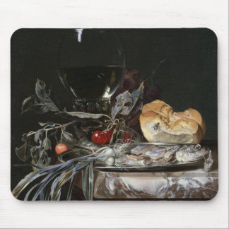 Still Life with Fish Platter Mouse Pad